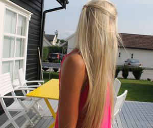blogger, blonde, and girl image