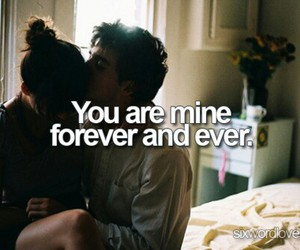 love, mine, and forever image