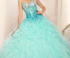dress, fairytale, and frozen image