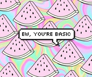 basic, wallpaper, and watermelon image