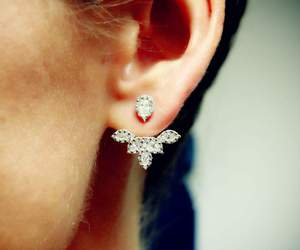 cool, design, and earring image