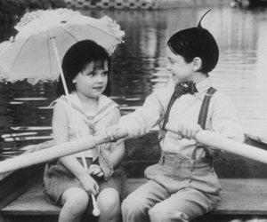 alfalfa, kids, and black and white image