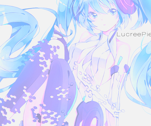 crying, miku, and vocaloid image