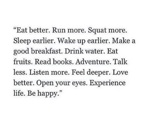 quotes, fitness, and happy image