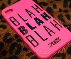 pink, blah, and case image