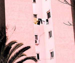 pink, building, and summer image