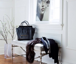home, celine, and black image