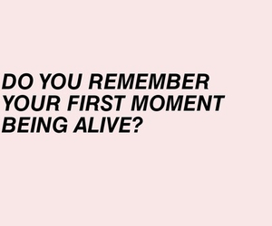 alive, pink, and quote image