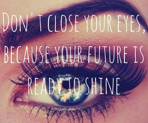 eye and positive image