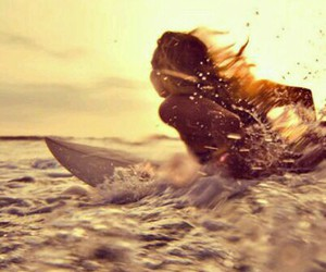 surf, surfing, and summer image