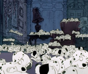 disney, 101 dalmatians, and puppy image