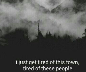 tired, sad, and people image