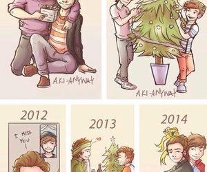 bromance, new year, and larry stylinson image