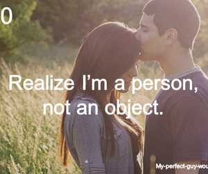 my perfect guy would and love image
