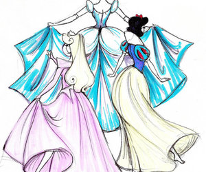 cinderella, disney, and snow white image
