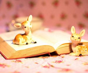 book, deer, and cute image