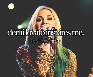 demi lovato, demi, and inspiration image