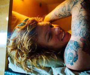 alan ashby, of mice & men, and band image