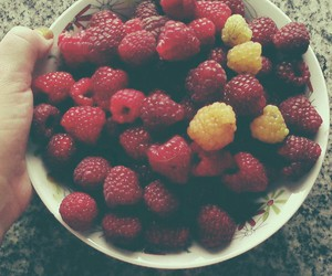 FRUiTS, raspberries, and summer image