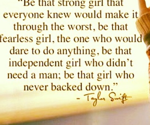 quotes, Taylor Swift, and strong image