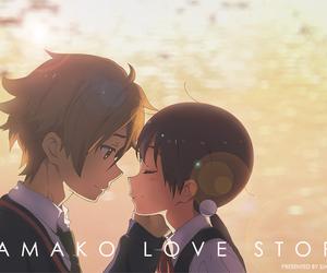anime, tamako love story, and tamako market image