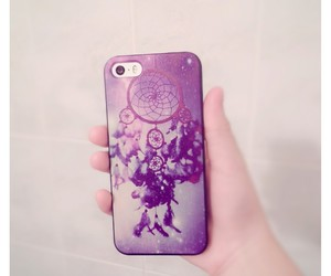 beautiful, dreamcatcher, and galaxy image