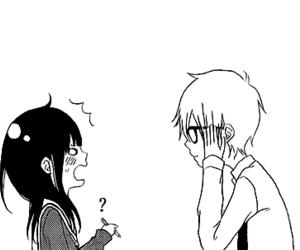 boy, girl, and manga image