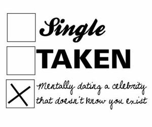 single, celebrity, and taken image