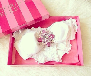 pink, bikini, and fashion image