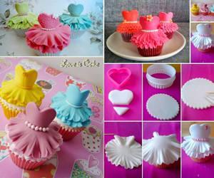 cupcake, diy, and food image