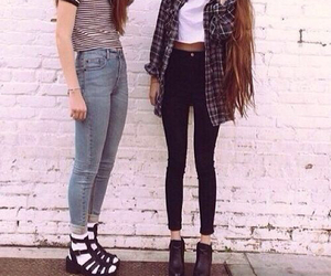 girl, indie, and fashion image