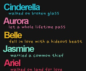 love, princess, and disney image