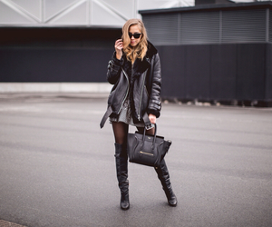 black, fashion, and kenza image