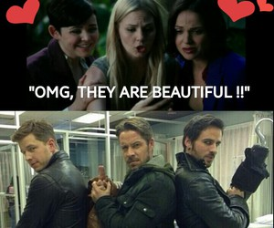 once upon a time, hook, and regina image