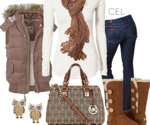 outfit, fashion, and ugg image