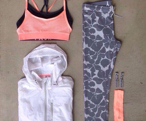 outfit, workout, and fitness image