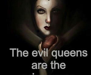princess, Queen, and evil image