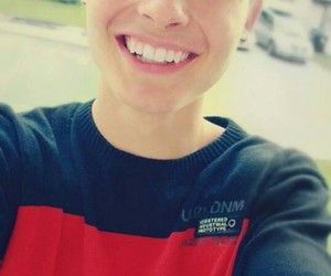 chris collins, smile, and youtuber image
