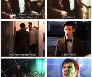 doctor who, david tennant, and tardis image