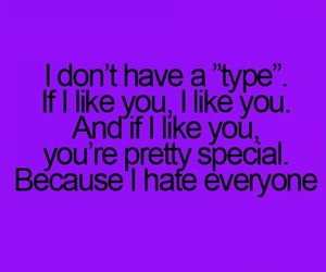 type, hate, and like image