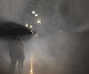 couple, photography, and rain image