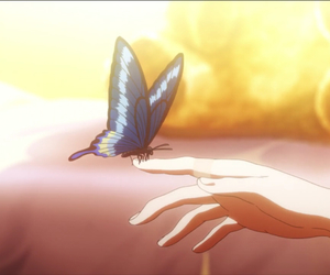 butterfly and tokyo ghoul image
