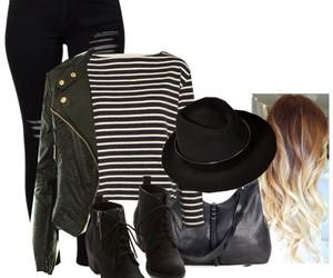 black, leather jacket, and grunge image