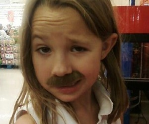 funny, ladies, and mustache image