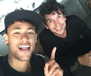 friend, ney, and neymar image