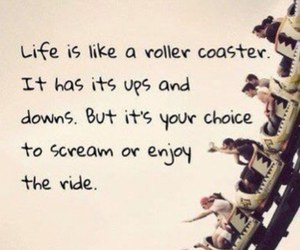 enjoy, quotes, and ride image