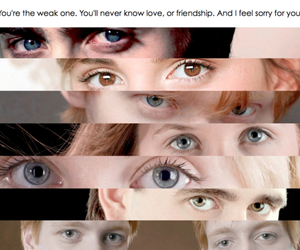 harry potter, eyes, and ron weasley image