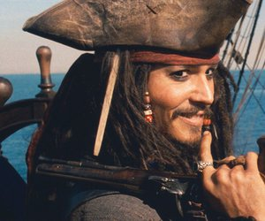 johnny depp, jack sparrow, and pirate image