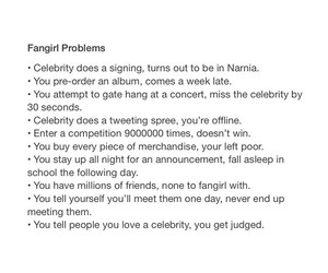 not easy, fangirl, and problems image