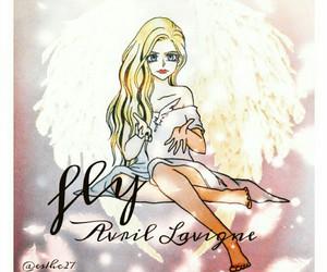 Avril Lavigne, sk8er girl, and born in the 80's image